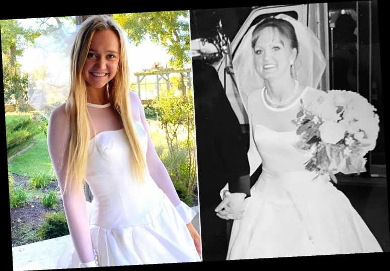 Ree Drummond's Daughter Paige Tries on Her Mom's 1996 Wedding Dress—See Them Side by Side