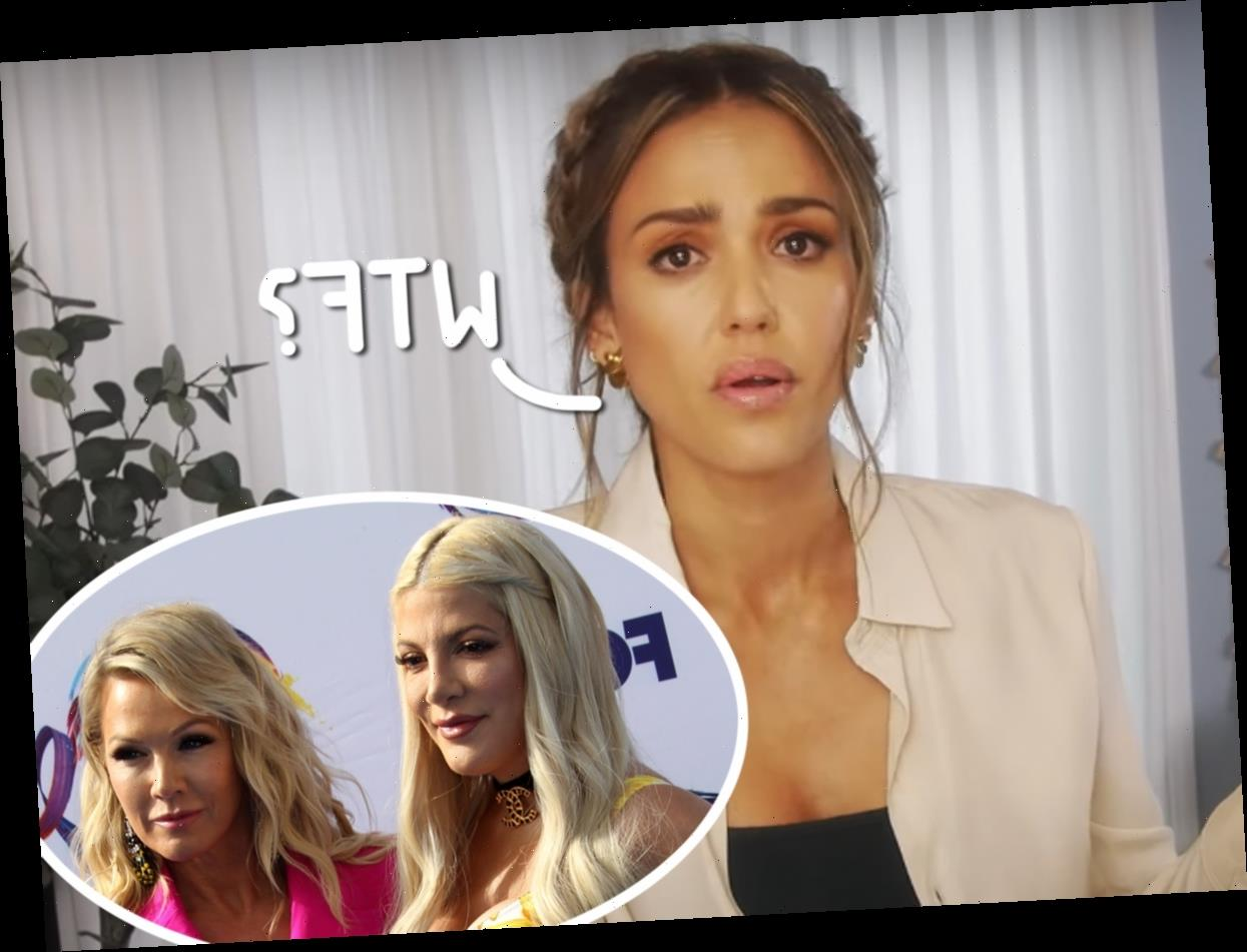 Jessica Alba Claims Guest Stars Were 'Not Allowed To Make Eye Contact' With 90210 Cast!