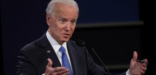 This Joe Biden debate move has the internet buzzing
