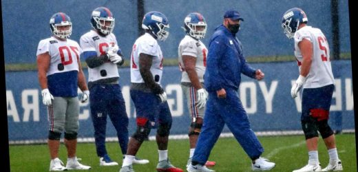 Giants avoid COVID-19 crisis with offensive lineman back at practice