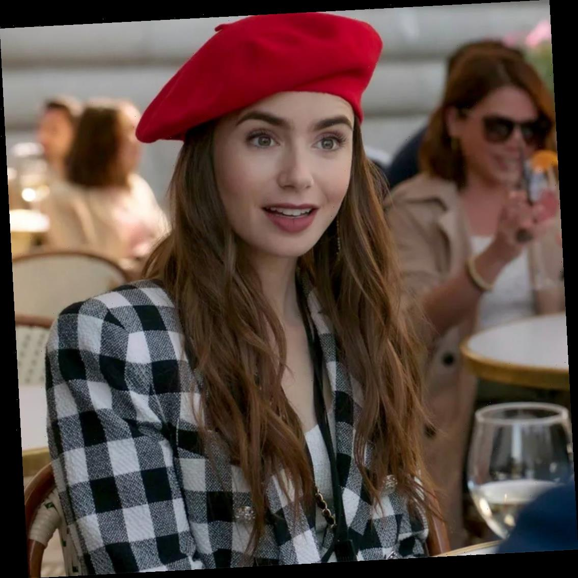 Lily Collins Revealed Her Emily in Paris Character's Age—and Now We're Confused