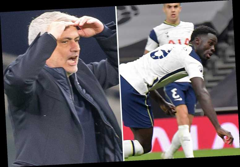 Jose Mourinho insists Tottenham were not 'Spursy' in West Ham capitulation as boss jokes about Davinson Sanchez own goal