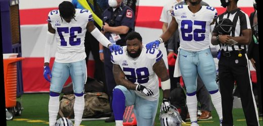 Jerry Jones: Cowboys cut Dontari Poe over weight and performance, not national anthem kneeling