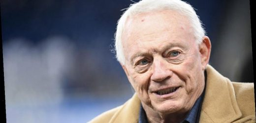 Cowboys' owner Jerry Jones losses his temper during interview: 'Shut up and let me answer'