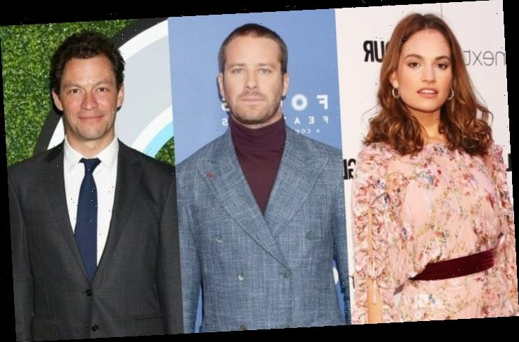 Lily James Allegedly Broke Armie Hammer's Marriage Before Dominic West Scandal