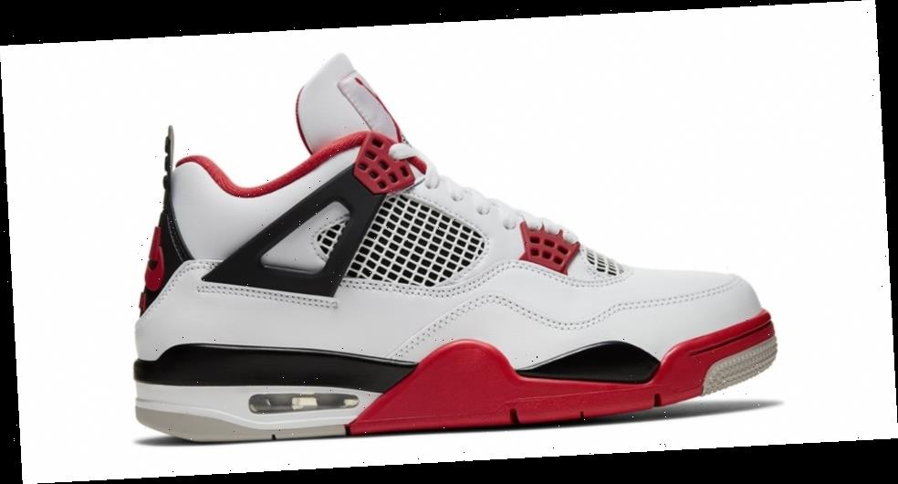 "Air Jordan 4 ""Fire Red"" Recieves Nike SNKRS Shock Drop"
