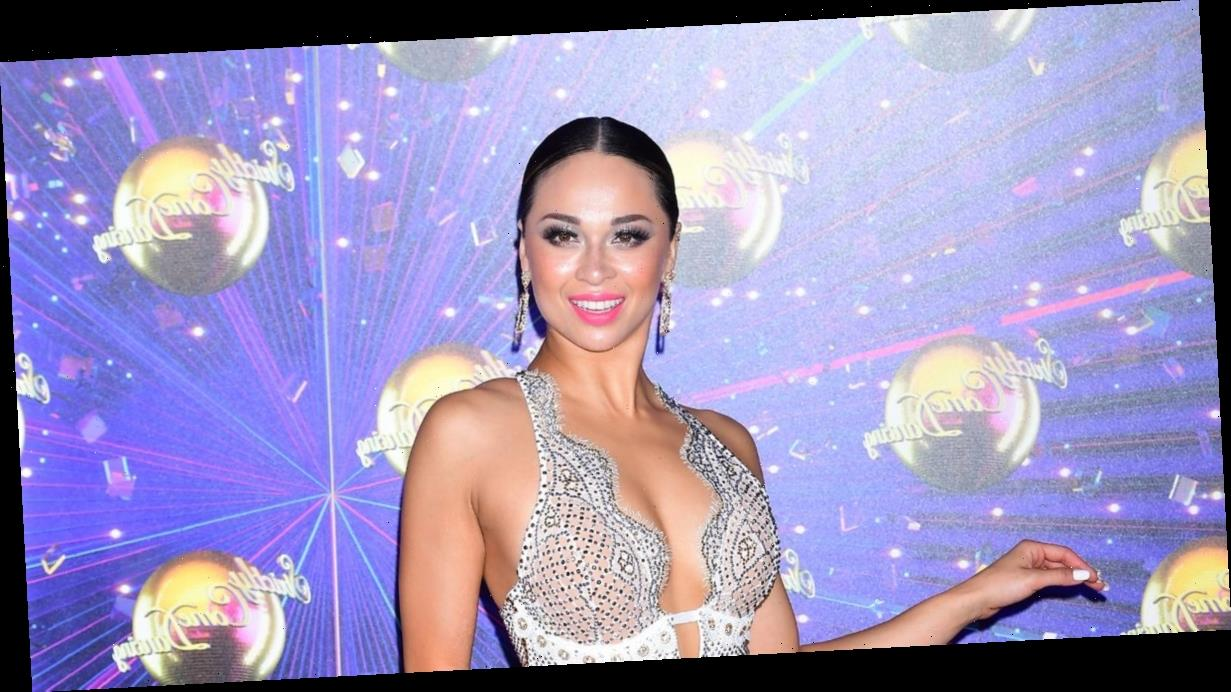Strictly's Katya 'caught Covid at sandwich shop' as star is axed from show