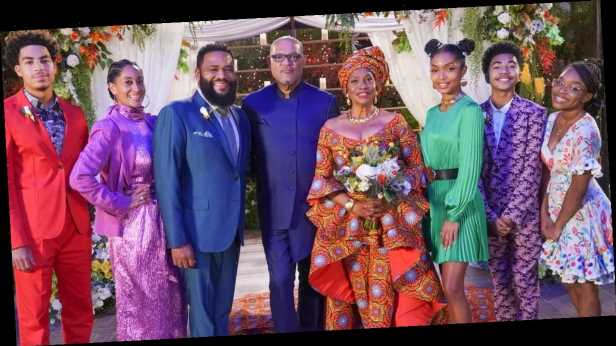 Black-ish: Ruby and Pops's Wedding Was Basically a Fashion Show, and We're Not Complaining