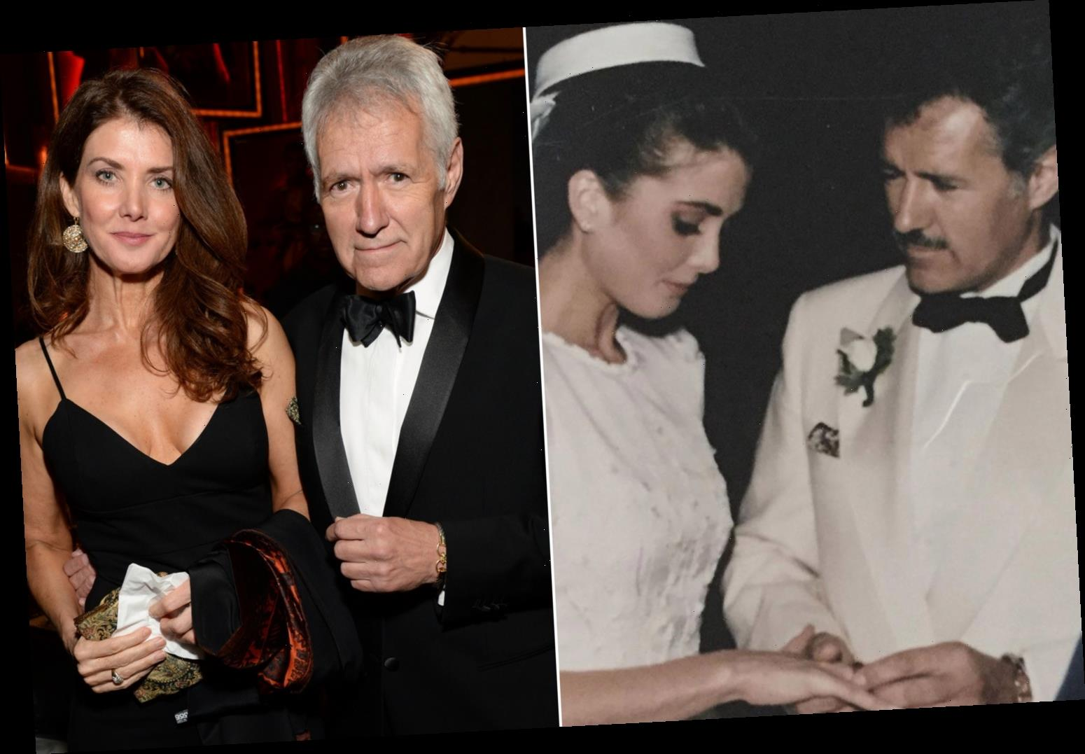 Alex Trebek's wife Jean posts wedding day photo, thanks fans for support