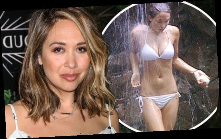Myleene Klass talks famous shower scene as I'm A Celebrity 2020 kicks off 'Best $40 ever'