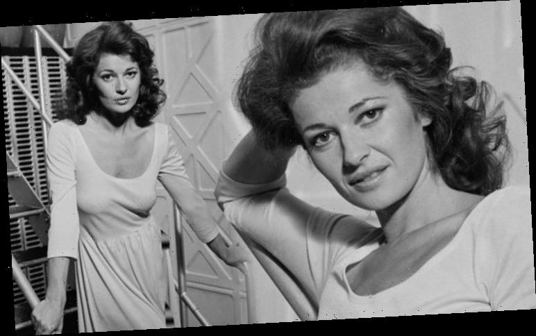 Stephanie Beacham goes braless in eye-popping unearthed shots before Dynasty role