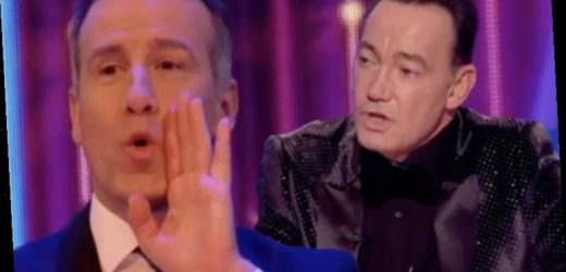 Craig Revel Horwood dishes brutal swipe to Anton Du Beke 'You're no longer here!'
