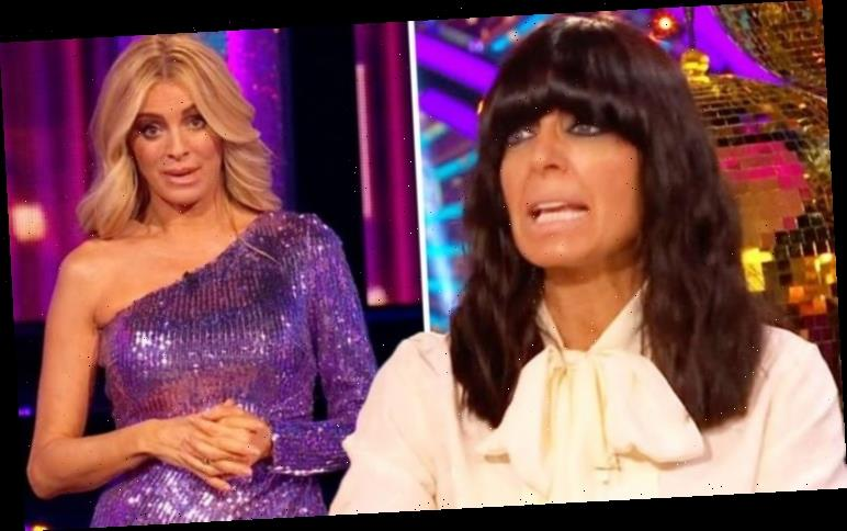 Claudia Winkleman apologises to BBC co-star for awkward Strictly error: 'My brain melted'