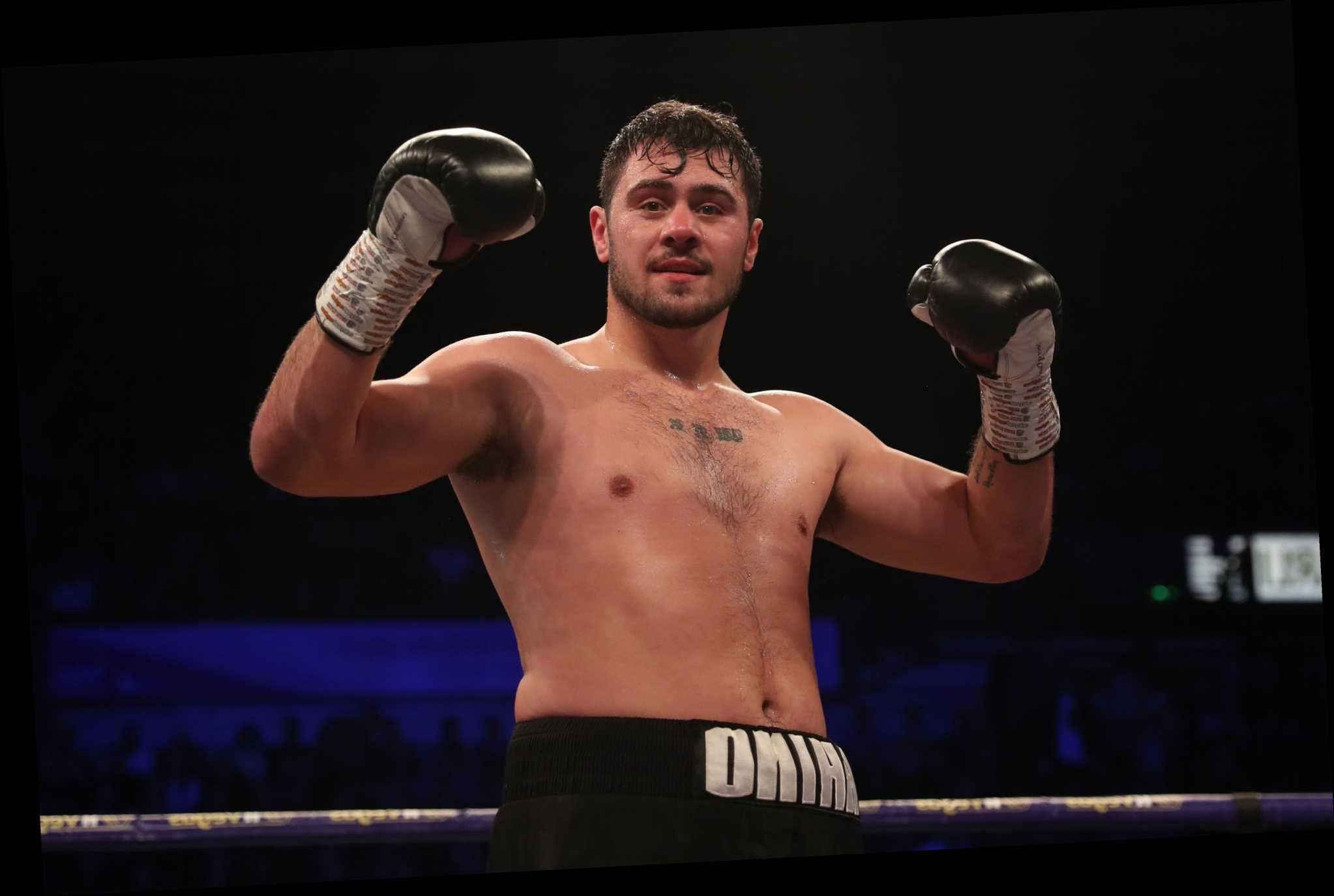 Dave Allen announces shock retirement from boxing aged 28 as he says he 'doesn't want to get punched anymore'