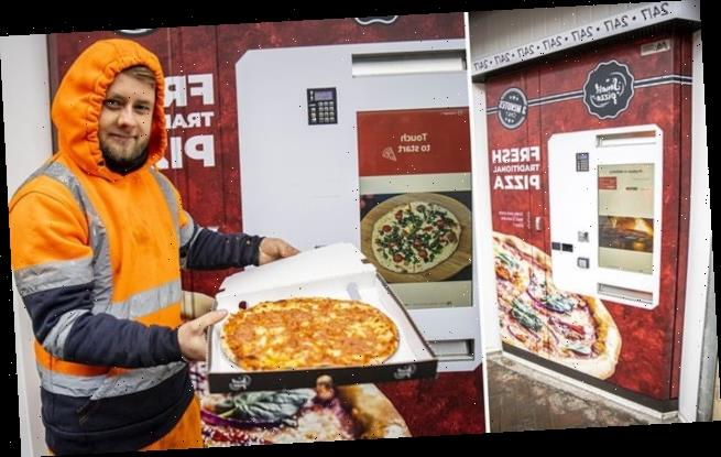 Restaurant installs Britain's first ever pizza vending machine