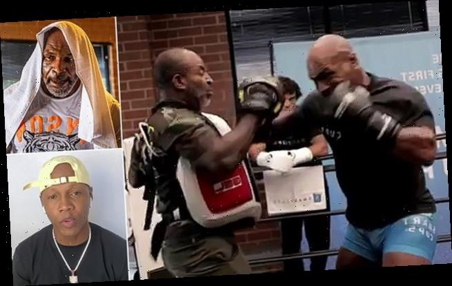 Tyson's training partner says he's been knocking out TEETH in sparring