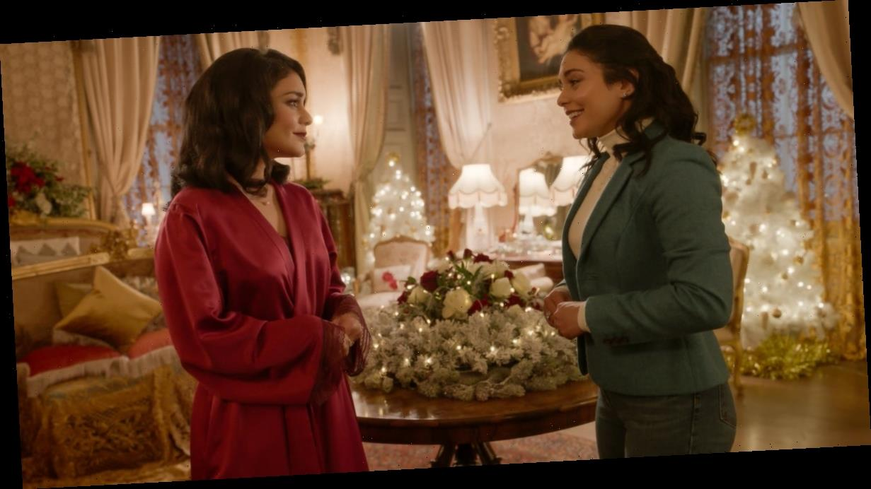 Holiday Hairstyles to Steal From Vanessa Hudgens's Characters in The Princess Switch 2
