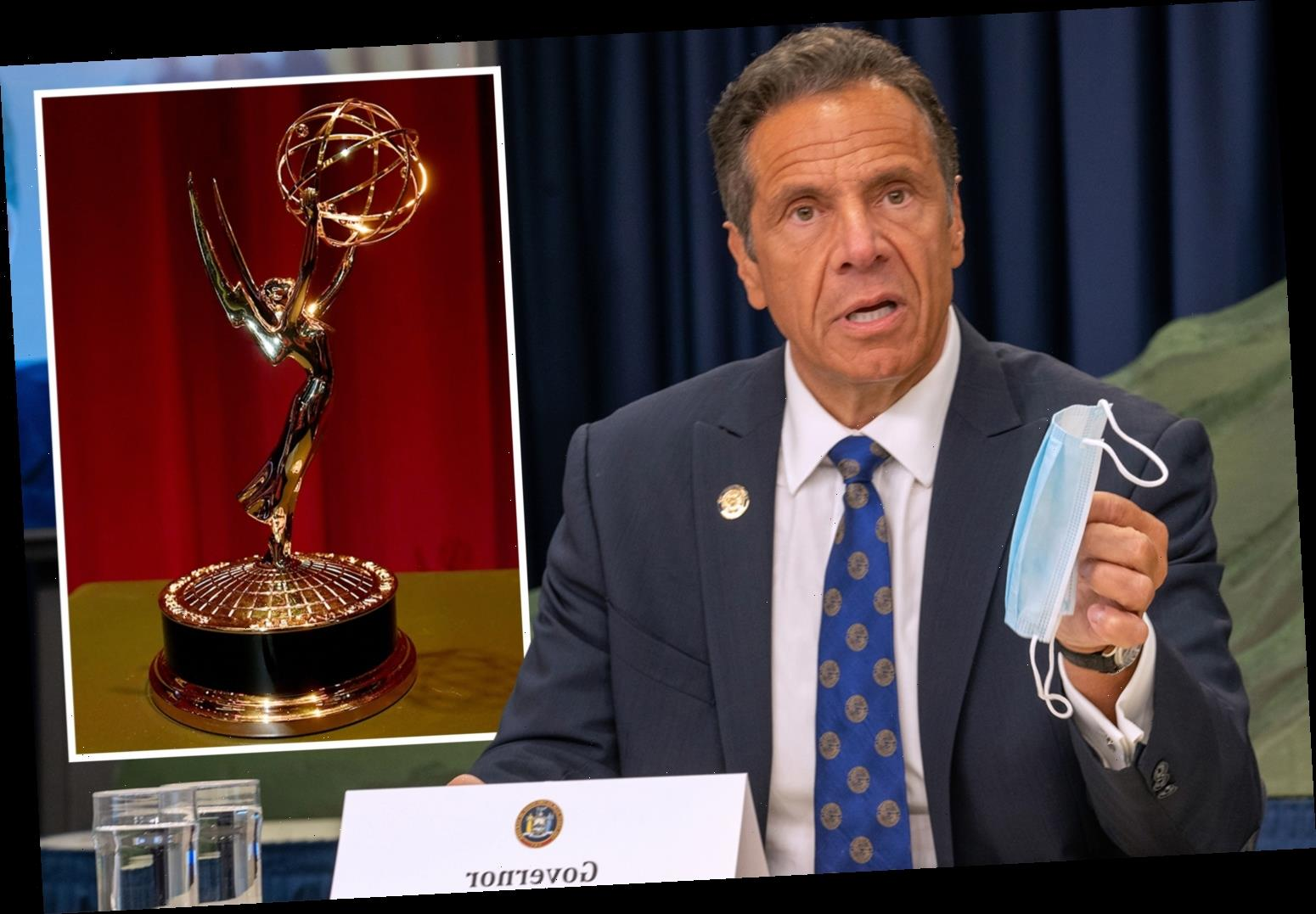 New York Gov Cuomo to bizarrely get Emmy for 'masterful TV' for Covid briefings after backlash over 'leadership' book