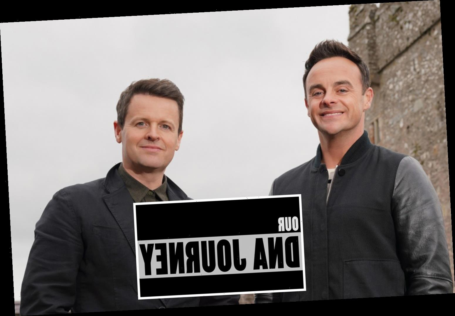 Ant and Dec hit Our DNA Journey lands full series with three more celebrities exploring their past