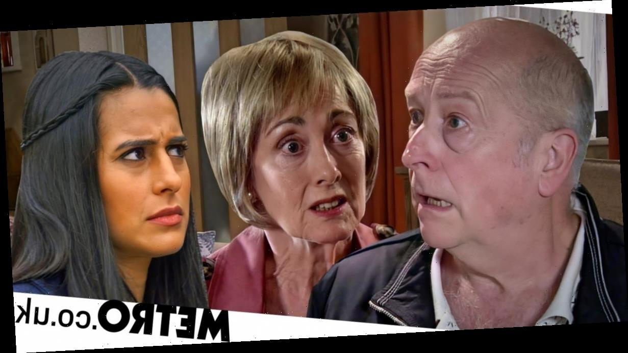 Spoilers: Alya finds missing Elaine and destroys Geoff in Corrie?
