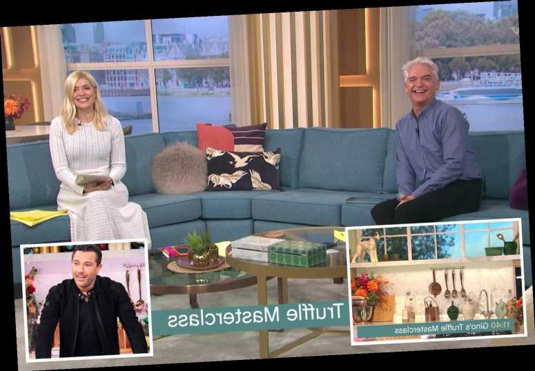 This Morning's Gino D'Acampo sparks panic as Holly and Phillip reveal he hasn't arrived for the show