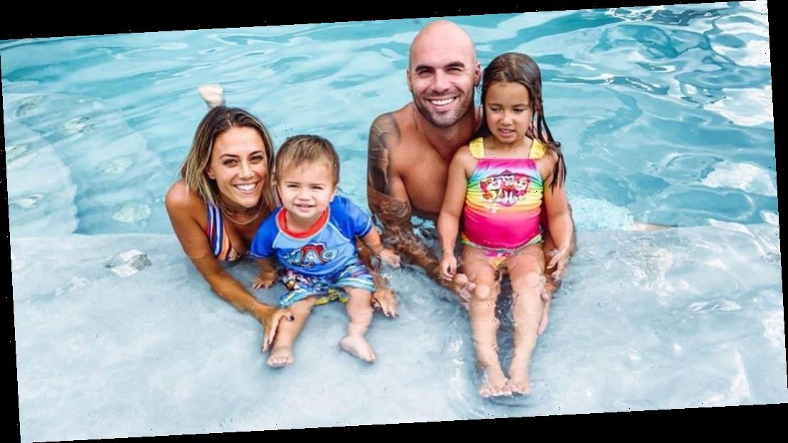 Mike Caussin Wasn't 'Comfortable' With Jana Kramer Showing Kids on Social