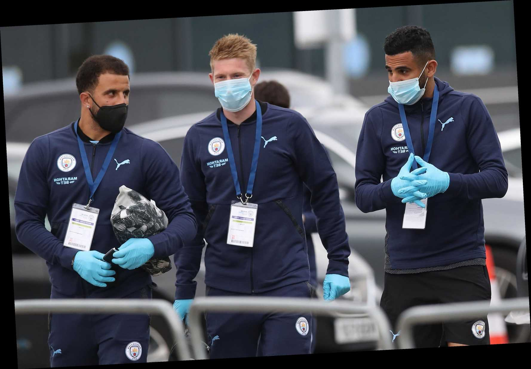 Premier League fearing coronavirus D-Day with top stars returning from international duty after positive tests