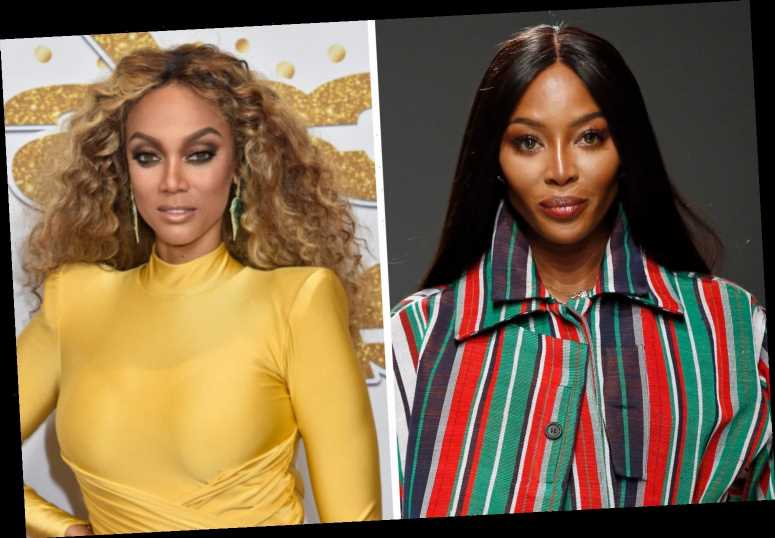 Naomi Campbell SLAMS Tyra Banks by sharing article claiming DWTS host 'is the real mean girl'
