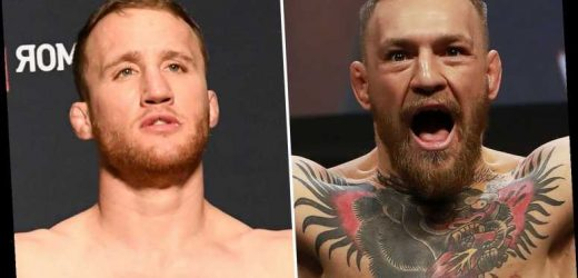 Conor McGregor could make stunning UFC return against Justin Gaethje if Dustin Poirier fails to agree terms