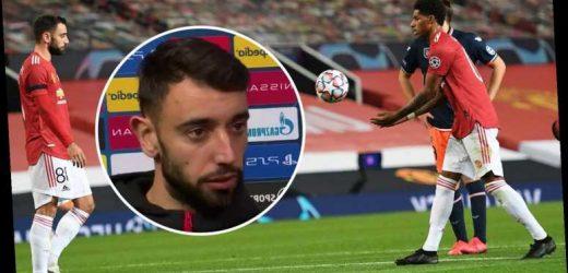 Bruno Fernandes reveals why he gave Man Utd pal Marcus Rashford penalty against Istanbul Basaksehir while on a hat-trick