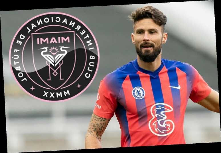 Frustrated Giroud admits he's finally ready to quit Chelsea in January as David Beckham's Inter Miami eye transfer