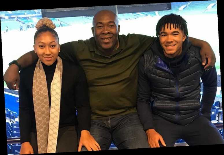 Chelsea star Reece James celebrates Man Utd ace sister Lauren's first England call-up with family pic