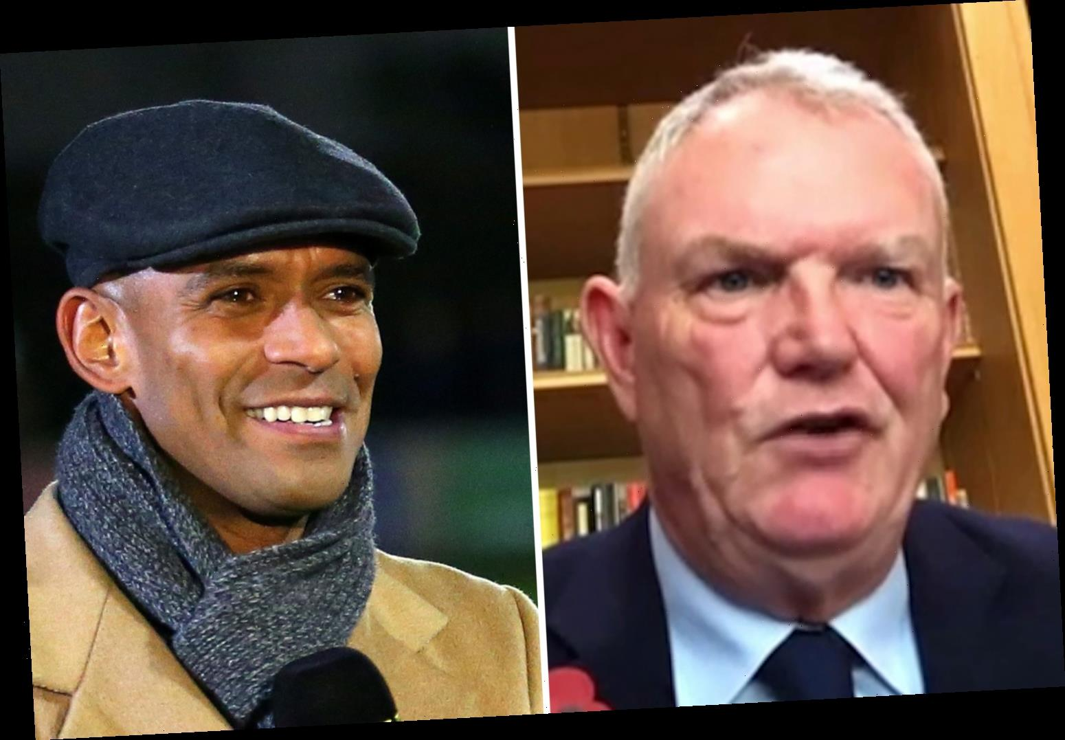 Ex-England star Trevor Sinclair accuses FA of being 'institutionally racist' after 'archaic' Greg Clarke's resignation