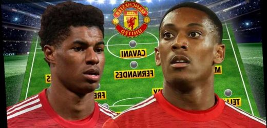 How Man Utd could line-up vs West Brom with Marcus Rashford and Mason Greenwood doubts but Martial out with injury