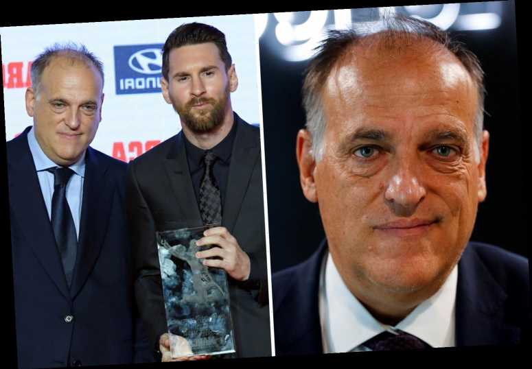 La Liga facing financial crisis as president Javier Tebas says finishing season will cost half a BILLION Euros