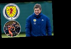 Scotland coach John Carver tore his CALF celebrating the penalty shootout win over Serbia to seal Euro 2020 spot