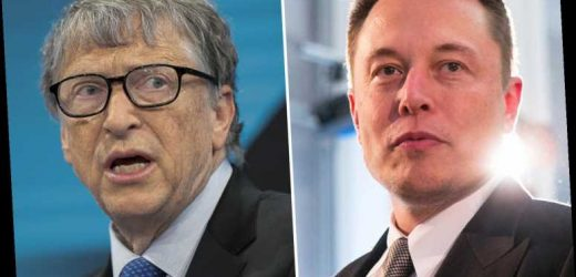 Elon Musk overtakes Bill Gates as world's second richest person as Tesla chief's net worth swells to $128BILLION