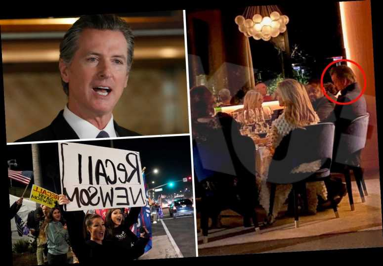 Democrat Governor Newsom in quarantine with family for Covid exposure after scandal over 'hypocritical' swanky dinner