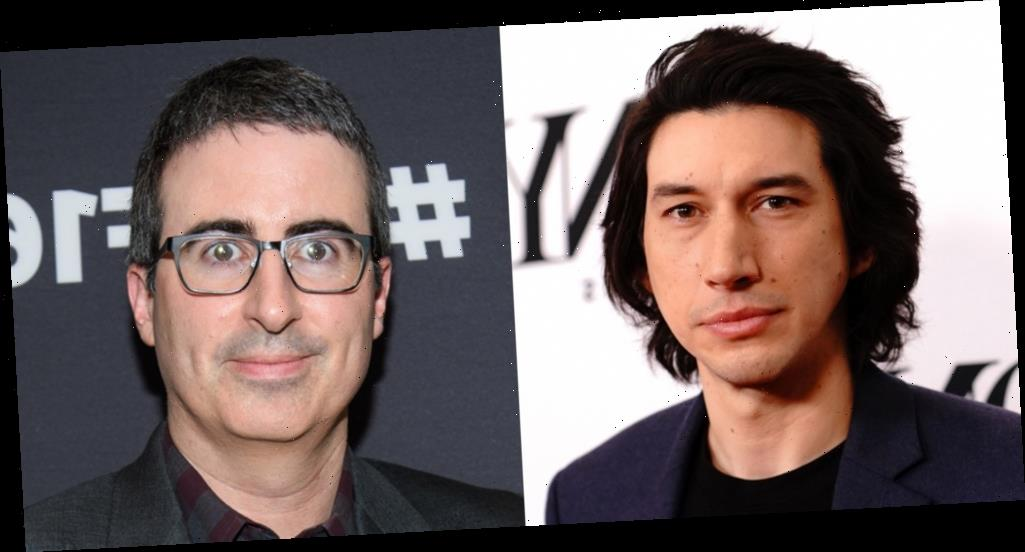 Adam Driver Confronts John Oliver: 'What the F— Are You Doing?'