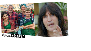 Noel Fielding replaced in first look at Bake Off Christmas Special