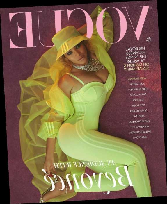 Beyonce covers British Vogue: 'I have learnt that my voice is clearer when I am still'