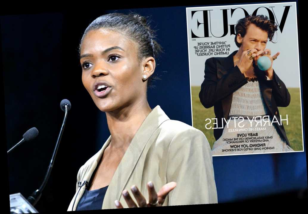 Candace Owens slams Harry Styles' ballgown: 'Bring back the manly man'