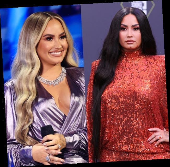 Demi Lovato's Hair Makeover: Singer Debuts Half Shaved Head & Blonde Locks — Before & After Pics