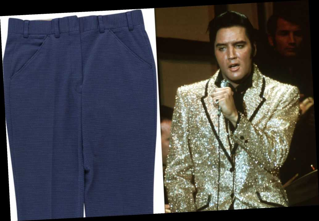 'Personally worn' pair of Elvis Presley's pants up for auction