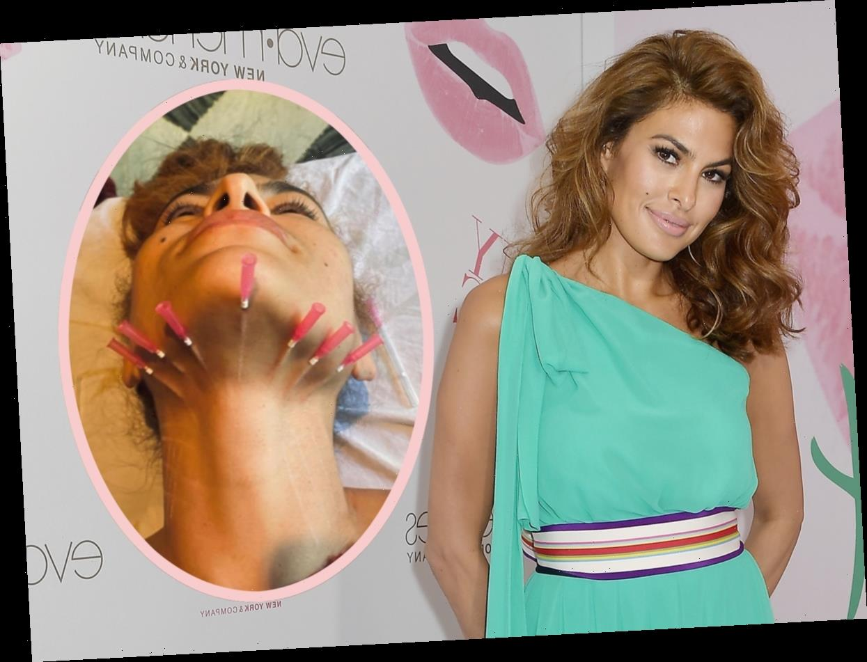 Eva Mendes Shocks Fans With TERRIFYING Photo Of Beauty Procedure!