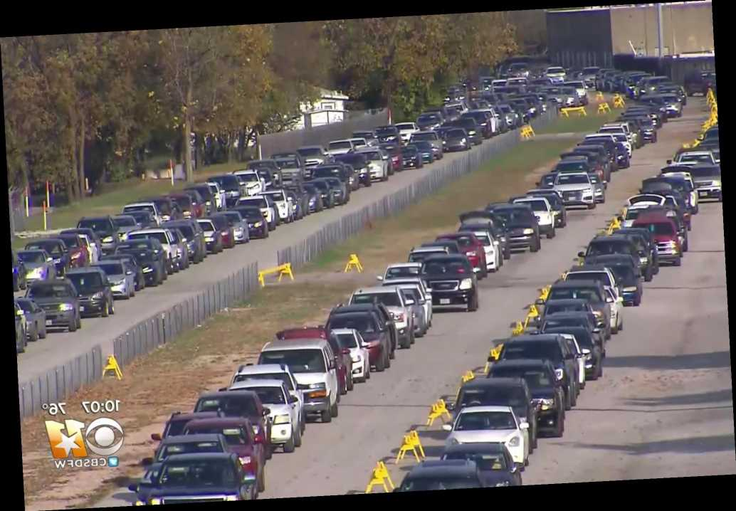 Thousands in COVID-19-stricken Texas wait up to 12 hours for free food