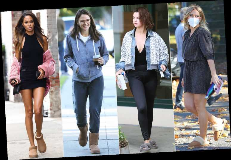 The Comfy Uggs Celebs Wear Like Clockwork This Time of Year Just Went on Super Sale