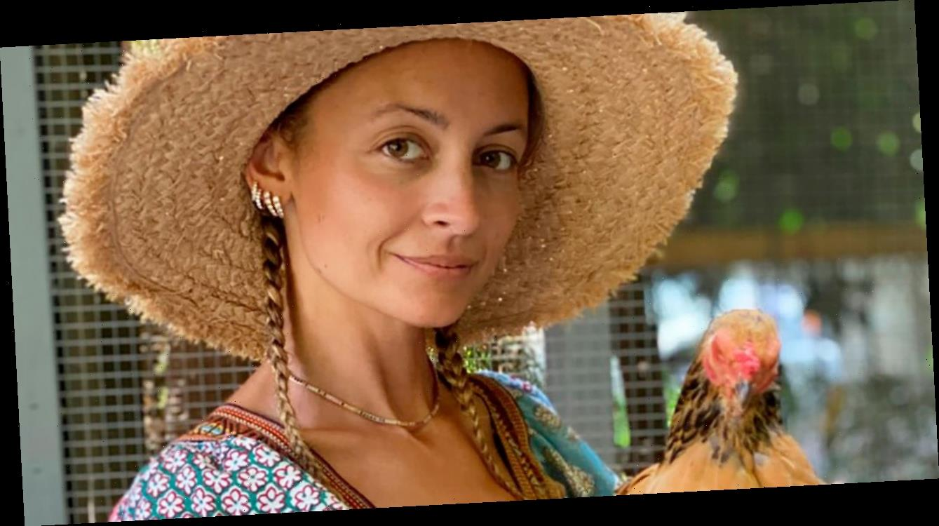 Nicole Richie Saved the Bees (from Her Dad's Side Eye)