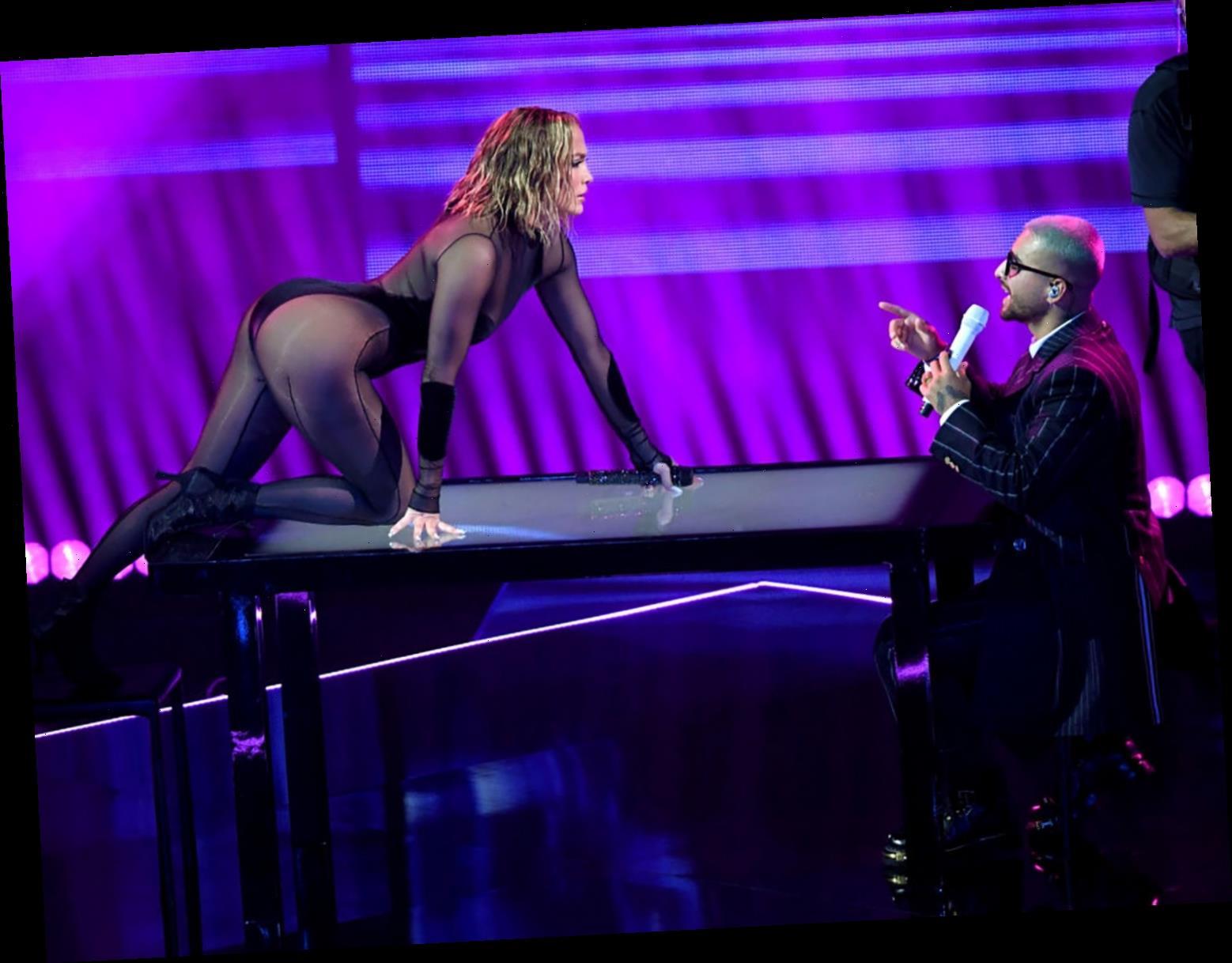 Jennifer Lopez and Maluma Give Steamy Performance of 'Pa' Ti' and 'Lonely' at 2020 AMAs
