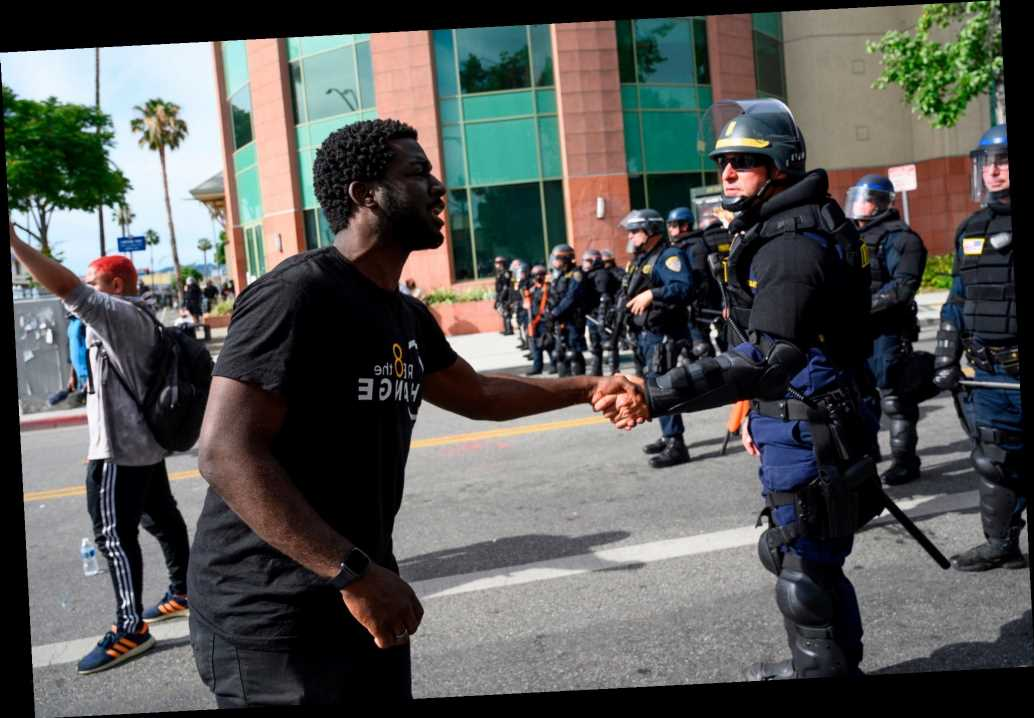 Why many black youths like me support both BLM and the police
